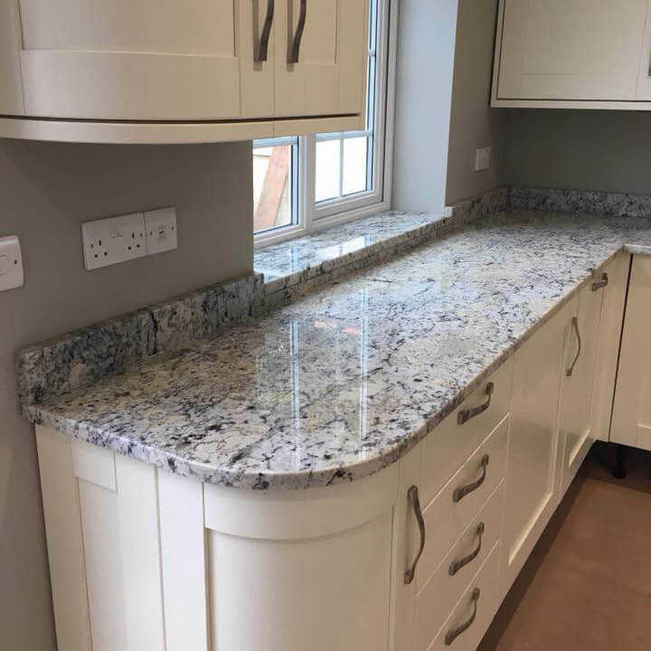 Antiquity Ice White Granite Leicester Doncaster