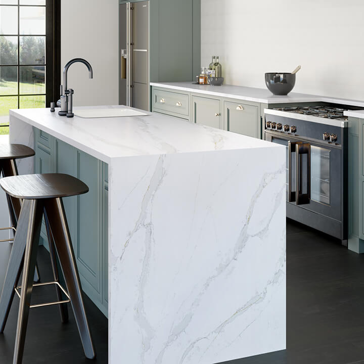 Antiquity Silestone Eternal Calcatta Gold Quartz Derby Doncaster 2